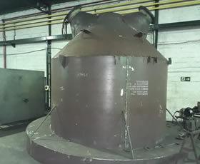 Produção de Caldeiraria