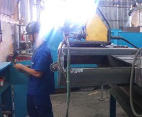 Manutenção de Estrutura Metálicas