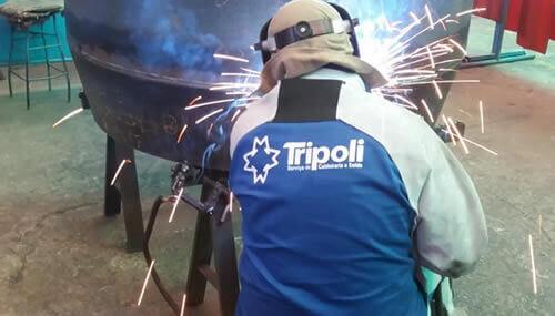 Serviços de Soldagem - Tripoli